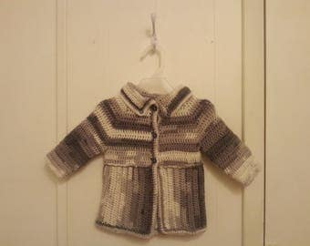 Crocheted Jacket for 9 to 12 month old