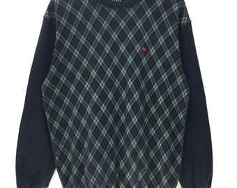 Rare!!! Vintage Polo British Country Spirit Sweatshirt Crew Neck Small Logo Embroidery Pullover Jumper Streetwear Sportwear Shirt Lifestyle