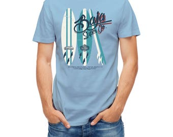 T-shirts California Surfboard Ocean Surfer Surf 25846