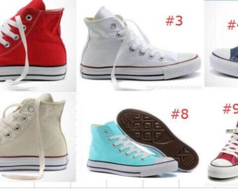 Monogrammed converse, monogrammed chuck taylor classic