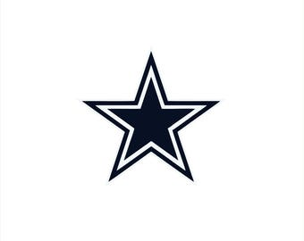 Dallas Cowboys Decal Etsy