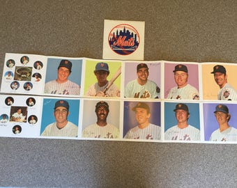Dairylea 1974 New York Mets Photo Album