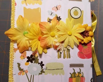Yellow Recipe Album