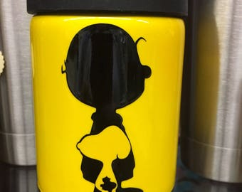 Snoopy Charlie Brown Can Cooler
