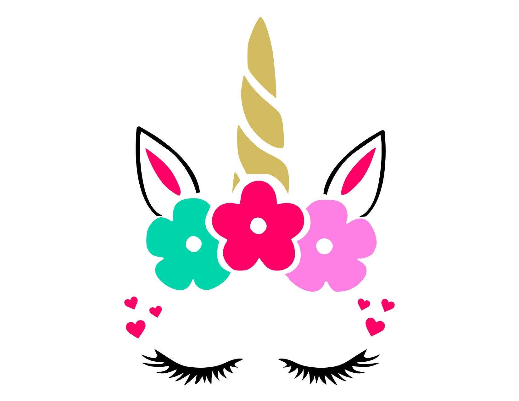 unicorn face svg  unicorn face cut files svg  studio Halloween Free Downloads for Cricut Free Downloads for Cricut Cupcake