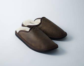 Classic Swedish Sheepskin Slippers