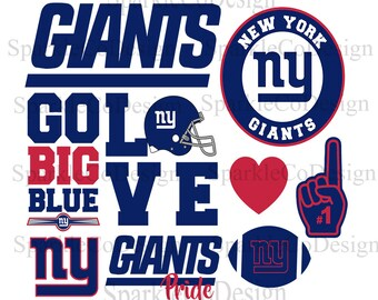 Instant Download NY Giants, SVG NY Giants American Football, Ny Giants Football Team