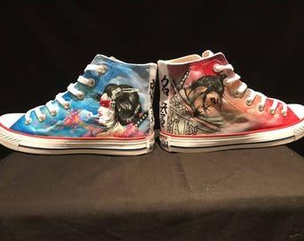 Women's custom converse