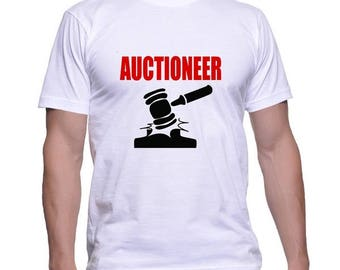 Tshirt for an Auctioneer