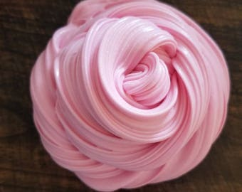 Bubblegum Buttercream- scented 8oz buttercream slime (NOT EDIBLE)