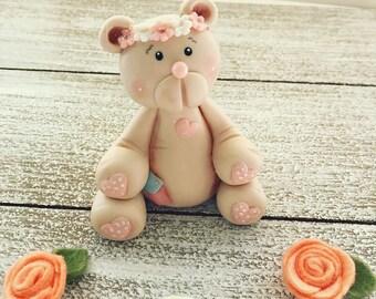 Teddy Bear cake topper, Baby Showers, Birthday .