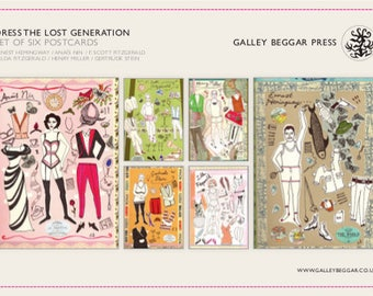 POSTCARDS—Dress The Lost Generation