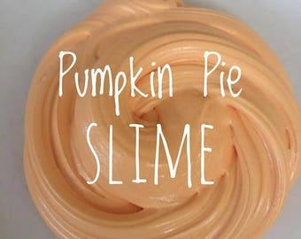 8oz Pumpkin pie fluffy slime!!