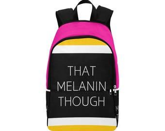 Melanin Custom Fabric Backpack