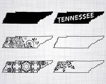 Tennessee Svg Etsy