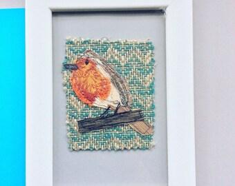 Robin in frame