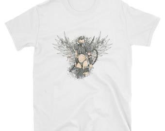 Avenging Angel - short sleeve unisex t-shirt