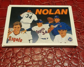NM 1990 Upper Deck Baseball Heroes Nolan Ryan #18 OF 18.1 Card.combined shipping