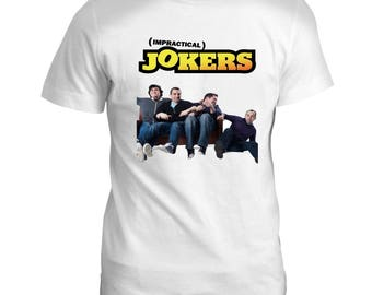 Impractical Jokers USA 00s Mens Cult Classic TV Film Movie GREY T Shirt