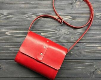 Leather Cross Body Bag, Pink Shoulder Bag, Women's Leather Crossbody Bag, Genuine Leather bag, Stylish Handbag, Hand Made, Lu Michael