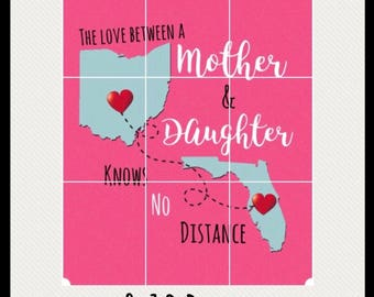 8x10 Mother/Daughter Print