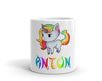 Anton Unicorn Mug