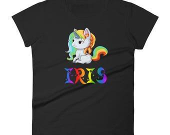 Iris Unicorn Ladies T-Shirt