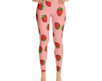strawberry Style Leggings