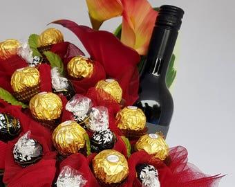 Sweet Red wine & Chocolate Garden