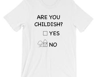 Funny Short-Sleeve Unisex T-Shirt Perfect Gift