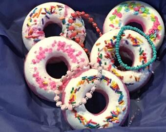 Kids Surprise Doughnut Bath Bombs