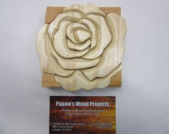 Rose Wall Plaque