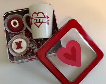 Valentines Day Gift/Valentines Day Chocolate Covered Oreos/Valentines Day Gift Box