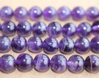 15 Inches Full strand,AA Amethyst Purple Quartz round 6mm 8mm 10mm 12mm beads wholesale,loose beads,semi-precious stone
