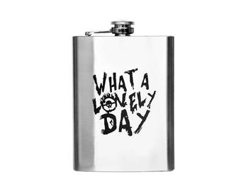 Mad Max - What A Lovely Day Designer Flask