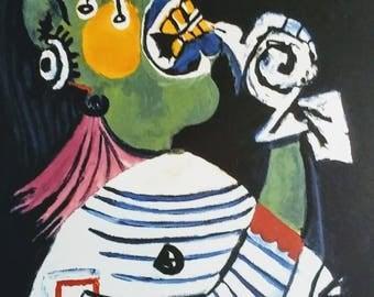 Woman in Distress - Pablo Picasso