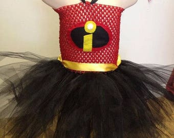 Invincibles character tutu dress, fancy dress costume, dress up costume for girls