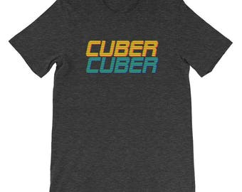 Retro Cuber Short-Sleeve Unisex T-Shirt