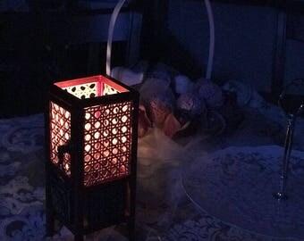 Wood Lantern , candle holder,lighting,decorative lantern,orginal lantern,shoji,handmade lantern,gift lantern,rustic lantern,home lantern