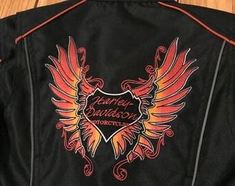 Harley Davidson Motorcycle Women's Jacket - XS