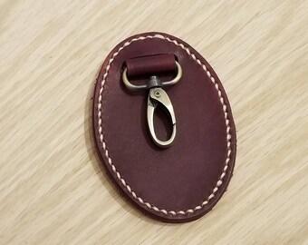 Leather Belt Key Holder, belt key fob, belt key chain, key fob, key chain, keychain