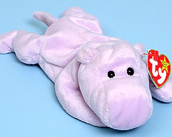 Ty Beanie Babies Happy the Hippo 1993
