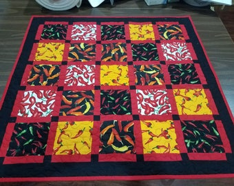 Red chile table topper