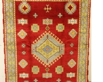 Wool Rug, Pak Kazak,