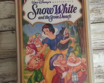 Snow White Masterpiece Collection VHS