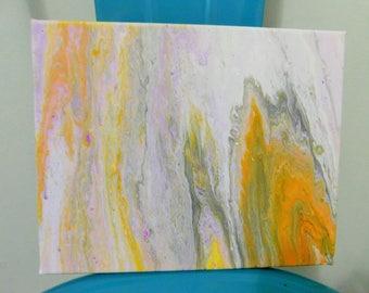 Acrylic Pour - 8x10