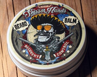 Beard wax / balm 2 OZ.60ML. Manly beard balm genuine organic materials with satisfying flavor. Pure manly materials made for style