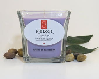 Fields of Lavender Soy Wax Candle-Scented Candle