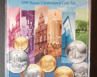 1999 Macau Mint Set