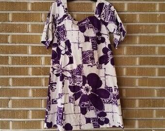 Hawaiian mini dress 60s
